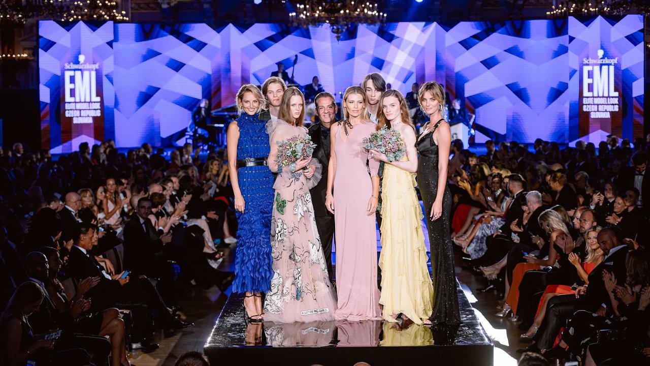 Vítězové českého a slovenského finále Schwarzkopf Elite Model Look 2019