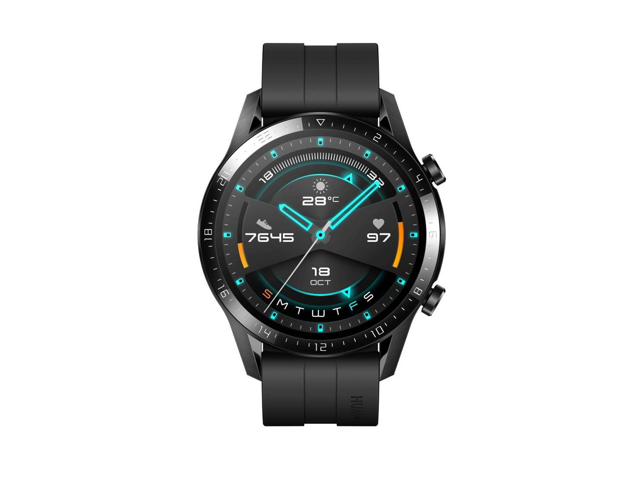 Huawei Watch GT2 nabídne imožnost vyřídit telefonní hovor zezápěstí díky integrovanému mikrofonu aBluetooth propojení smobilem.