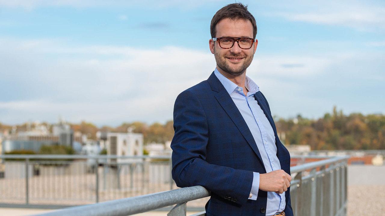 Michal Čarný, generální ředitel Mastercard pro Česko a Slovensko.