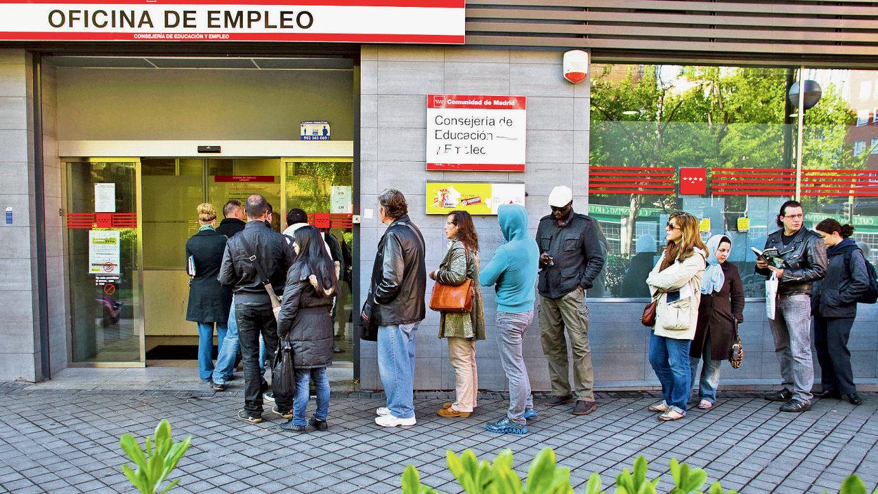 španělsko, nezaměstnanost