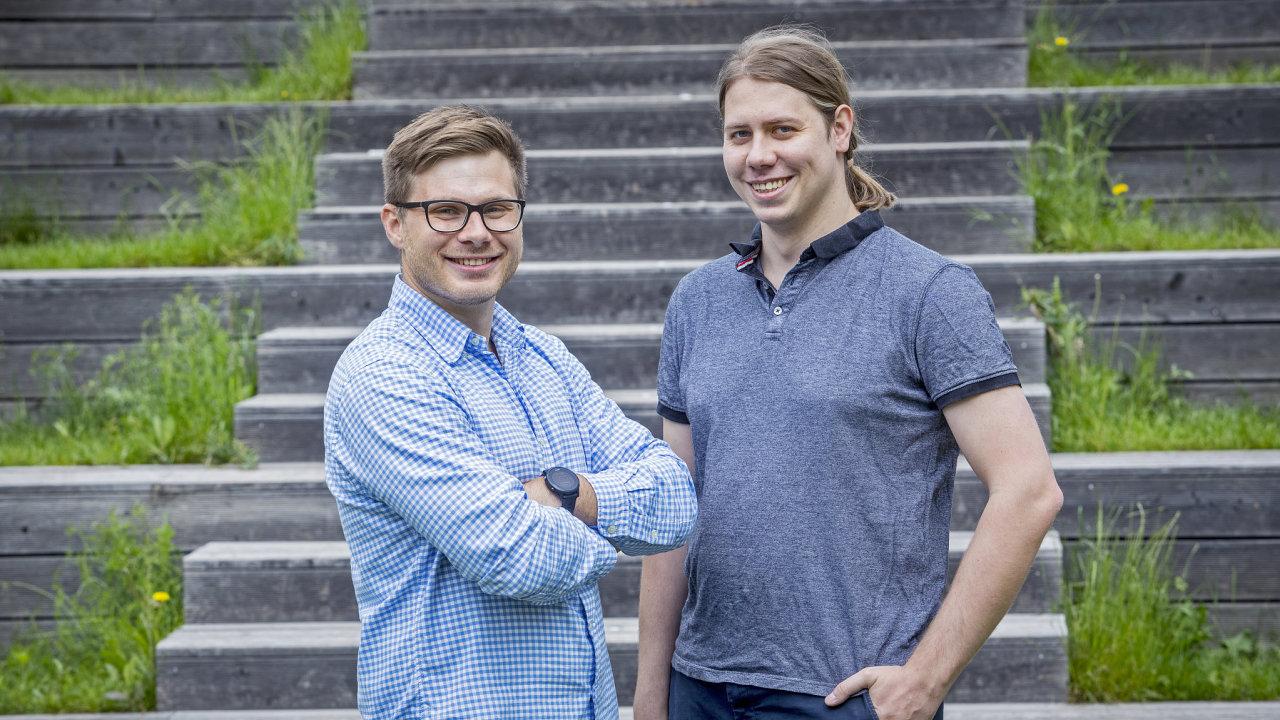 Vlastimil Vodička a Jan Skácel, zakladatelé firmy Leadspicker.