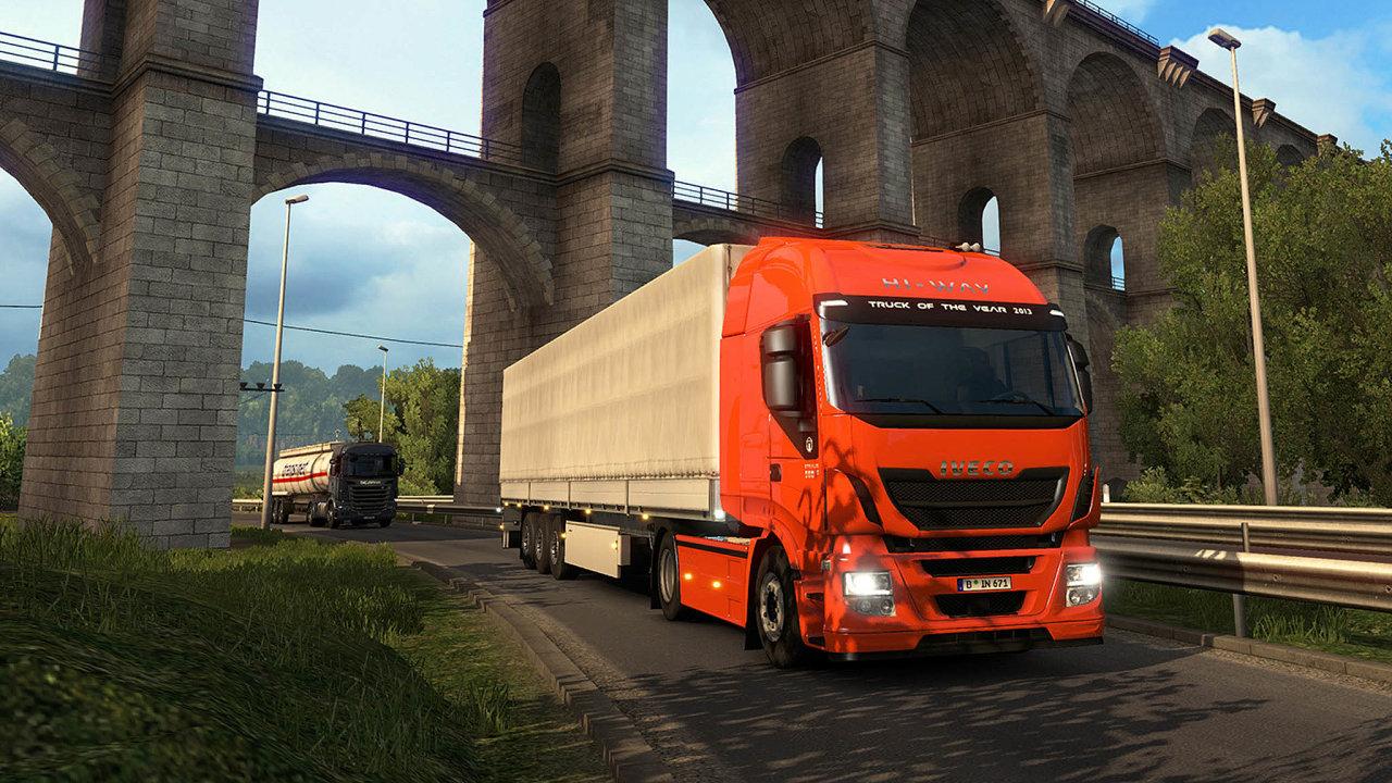 Euro Truck Simulator od SCS Software je nejprodávanější českou hrou.