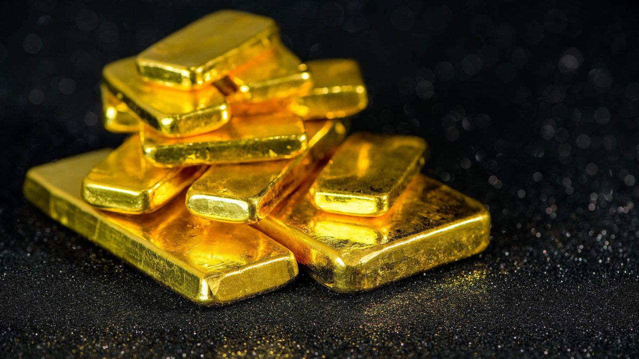 Ještě více než cena zlata míří nahoru kurzy akcií těžařských firem, jako jsou Barrick Gold či Newmont. Nárůsty jsou vjejich případě srovnatelné svývojem cen akcií velkých technologických firem.