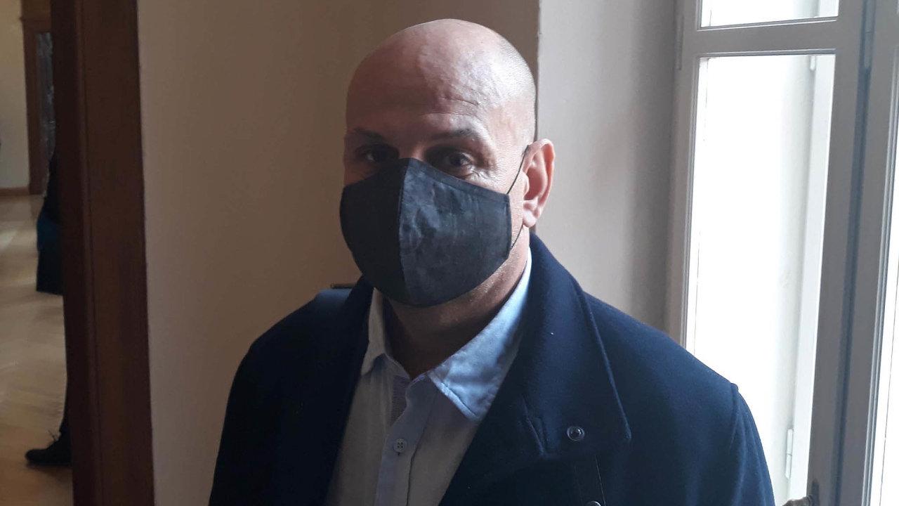 Korunní spolupracující: Obžalovaný spolupracující Saman El-Talabani vypovídal v úterý před soudem odetailech porcování Brna zavlády hnutí ANO.