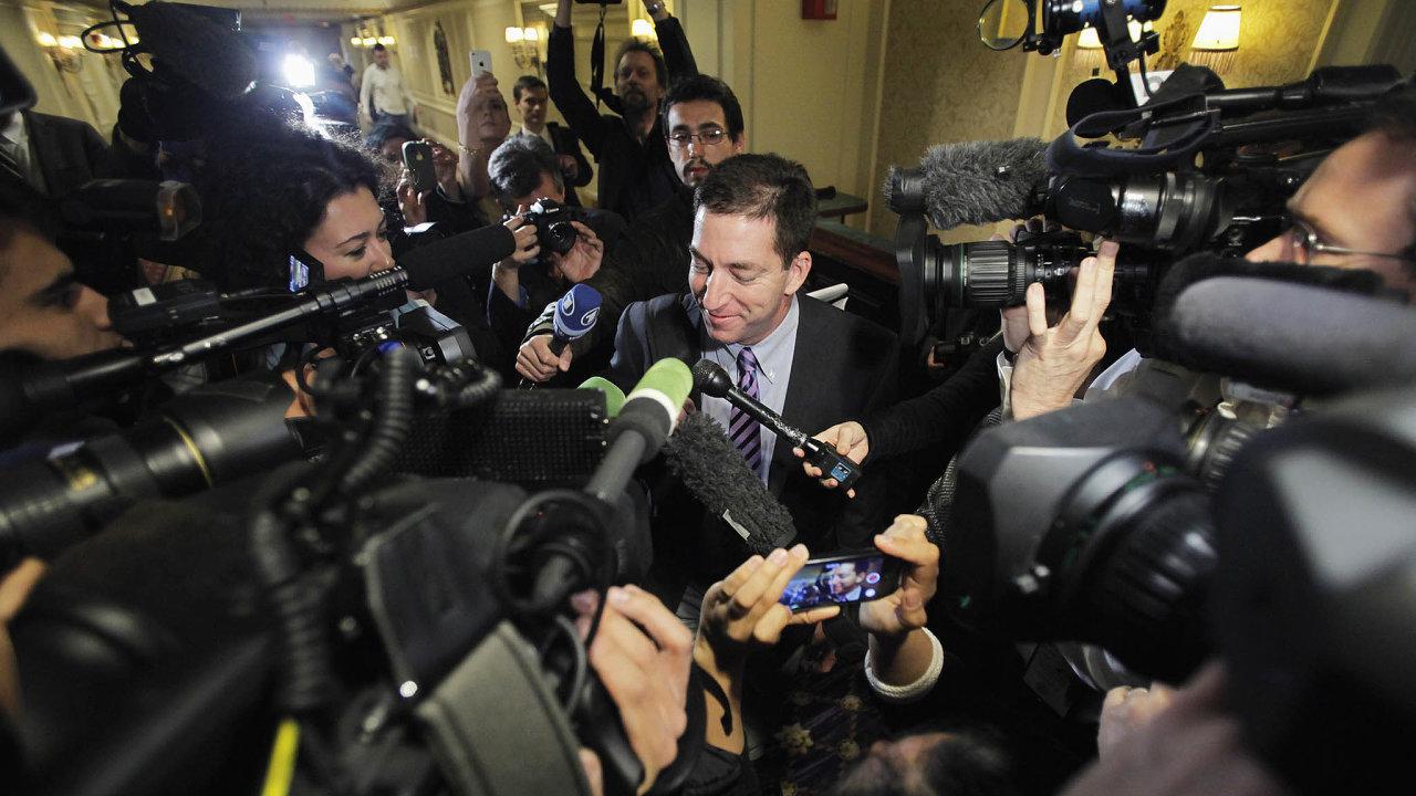 Greenwald, bojovník zanestrannost médií, se krátce před současnými prezidentskými volbami nechal slyšet, že