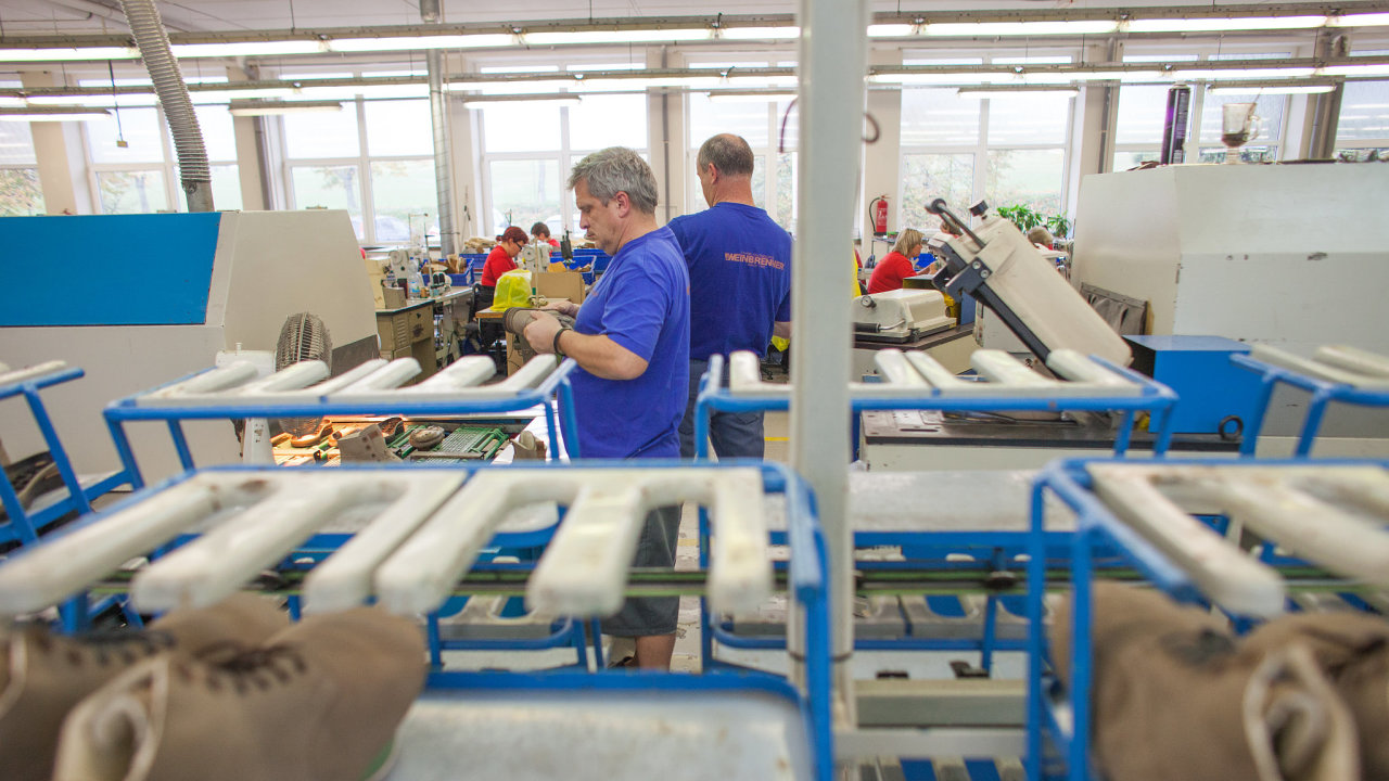 Továrna práce boty podnik