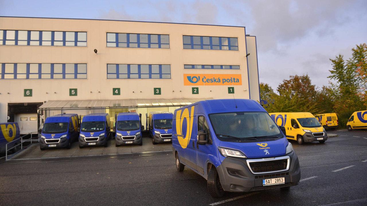 Česká pošta rozváží balíky svým zákazníkům i o víkendech (ilustrační snímek).