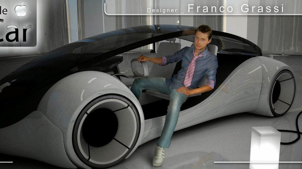 Takhle si auto od Applu představuje designér Franco Grassi.