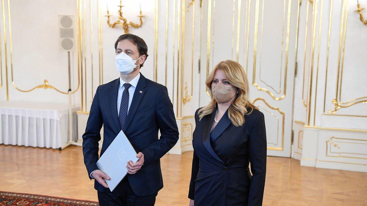 Heger a Čaputová