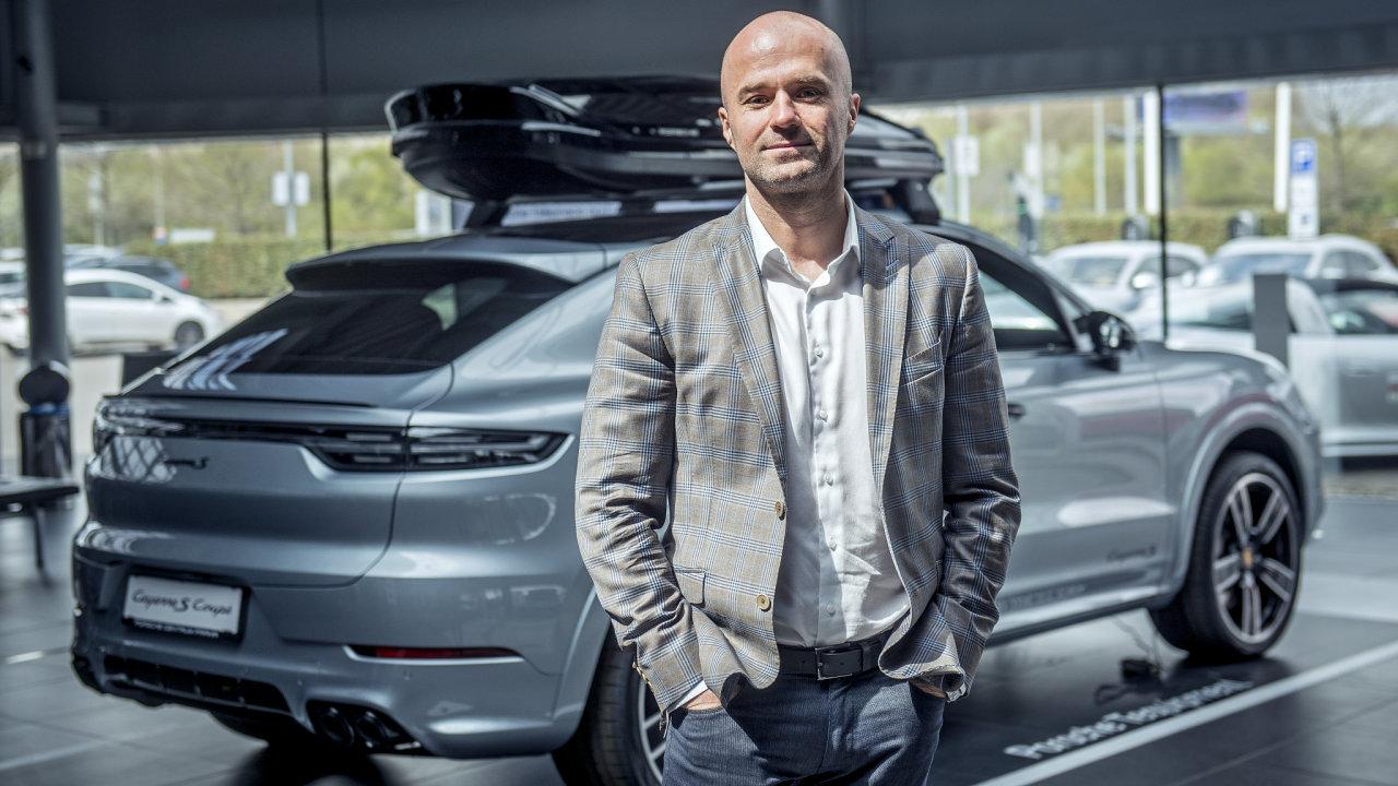 Jan Sedláček, šéf zastoupení Porsche v ČR