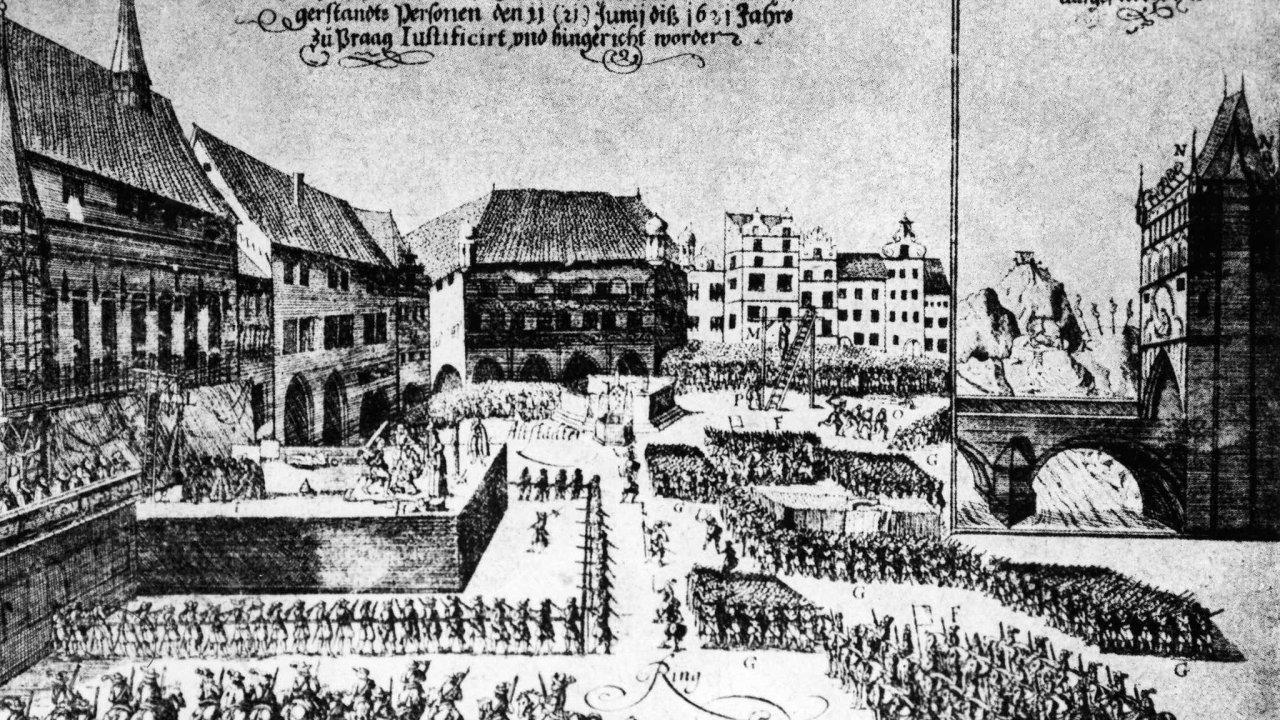 Rok po bitvě, 21. června 1621, bylo 27 vůdčích postav stavovského povstání popraveno na pražském Staroměstském náměstí.