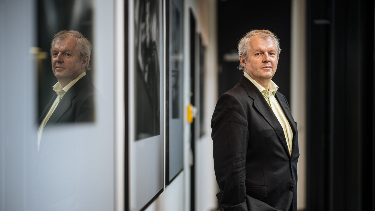 Petr Barák, předseda Komise ČBA pro bankovní a finanční bezpečnost