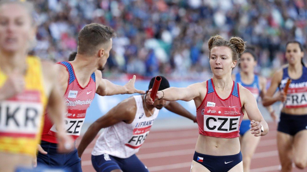 Atletka Barbora Malíková