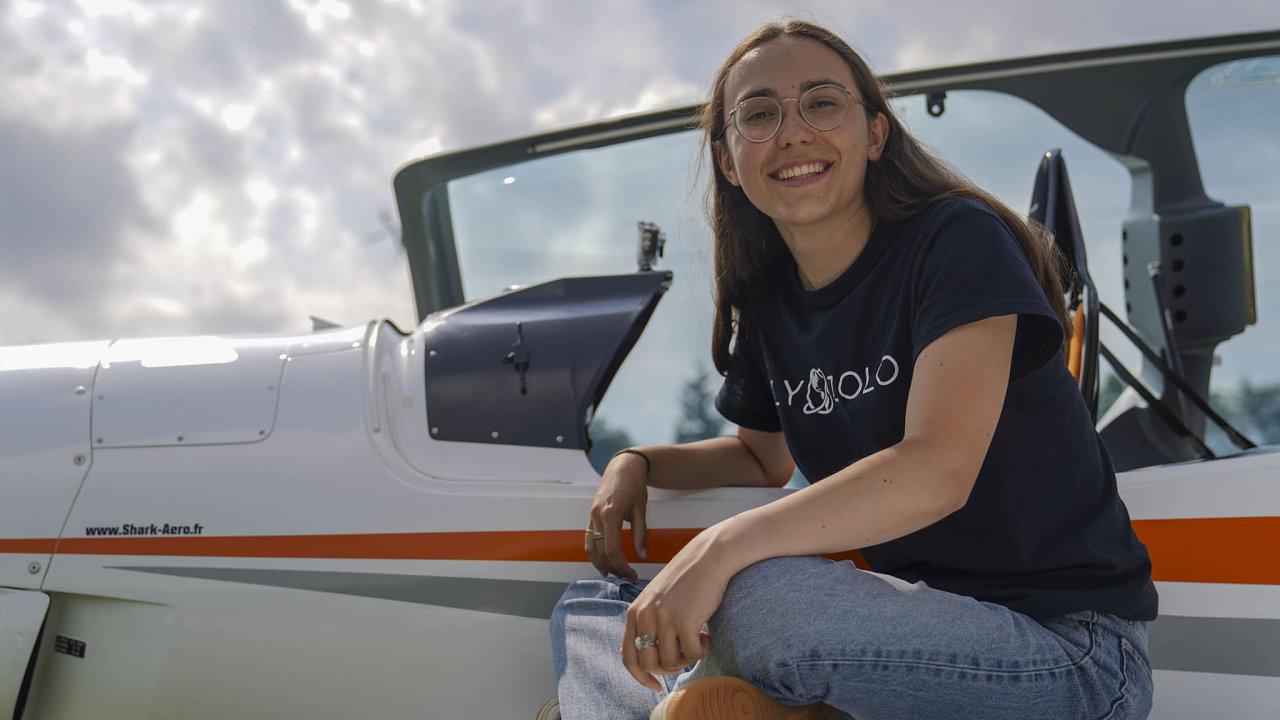 Let Zary Rutherfordové podporují rodiče, kteří jsou zkušenými piloty.