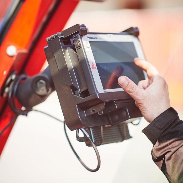 Katoen Natie začala využívat zařízení Toughbook M1 od společnosti Panasonic, známý outdoorový tablet.
