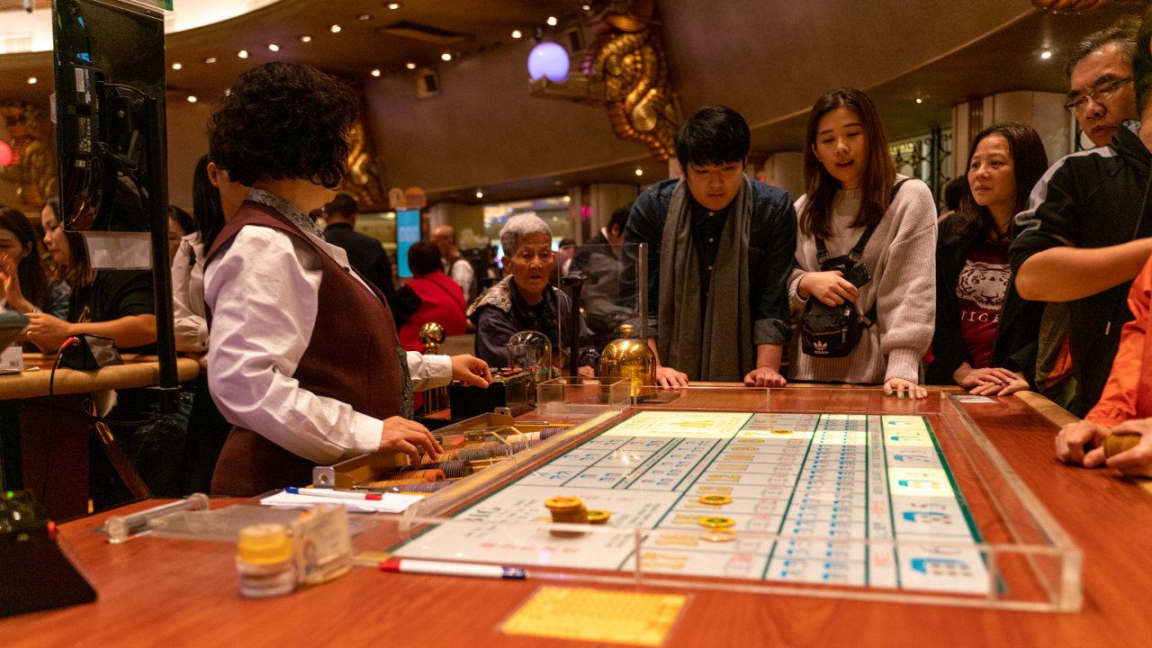 Macao, kasino