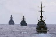 Rusko-venezuelské námořní manévry.