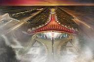Terminál čínského letiště - drak.