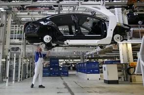 Německá ekonomika zažila rekordní propad.