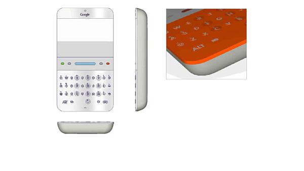 Prototyp Google telefonu