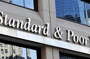 Mezinárodní ratingová agentura Standard & Poor's (S&P).