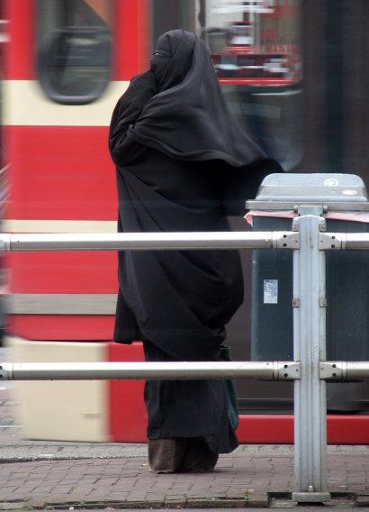 Žena v nikábu, foto: Bas Bogers