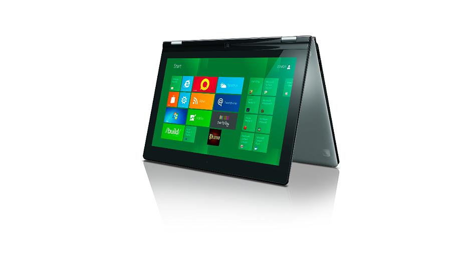 Hybridní notebook Lenovo Yoga s dotykovým displejem