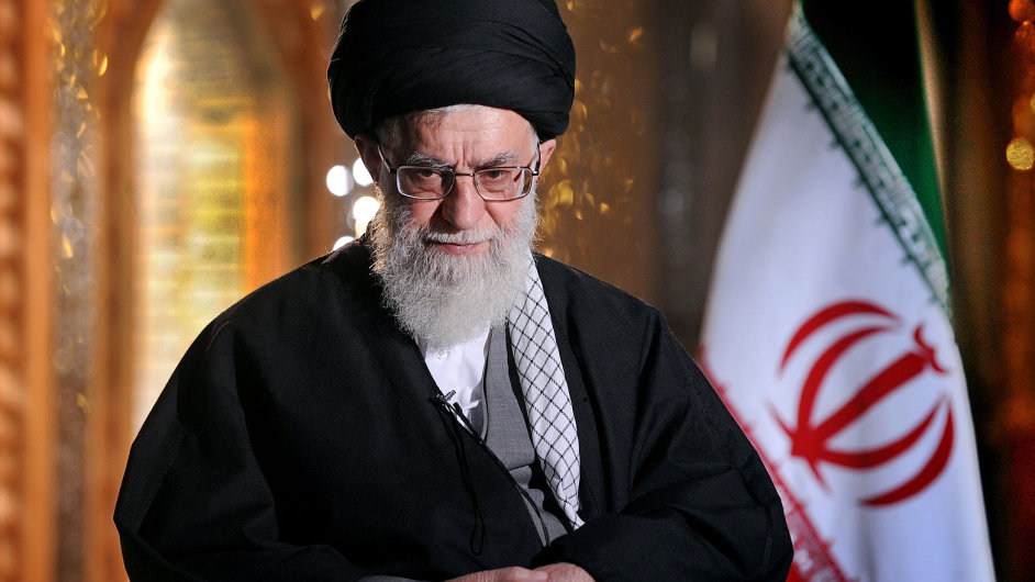 Nejvyšší íránský duchovní vůdce ájatolláh Alí Chameneí