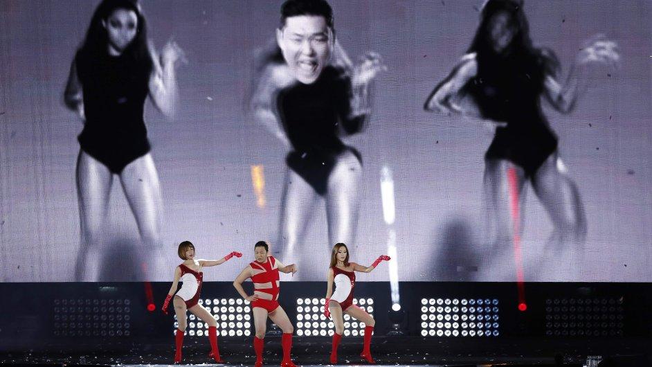 Vystoupení rappera PSY