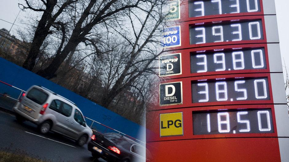 Ceny jako na obrázku již opět nejsou aktuální. Právě i díky jejich poklesu klesly meziměsíčně spotřebitelské ceny jako celek.