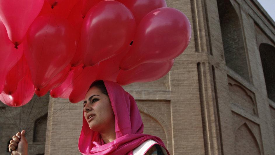 Věříme v balonky. Kampaň, která má pomoci Afghánistánu k trvalému míru.