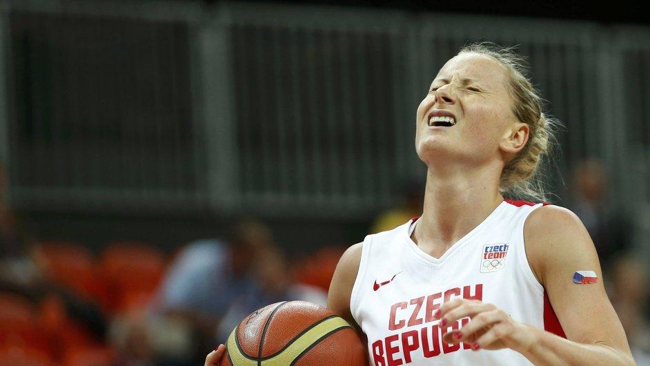 Zklamání české basketbalistky Ilony Burgrové