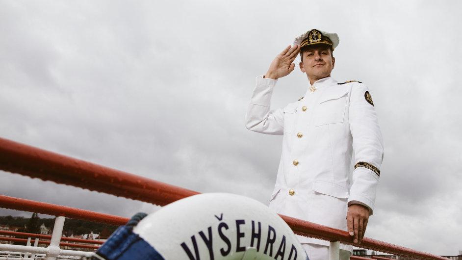 Kapitán Rusňák vystudoval antropologii, nakonec mu ale učarovaly lodě.