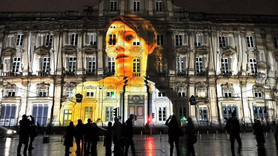 Festival světel v Lyonu