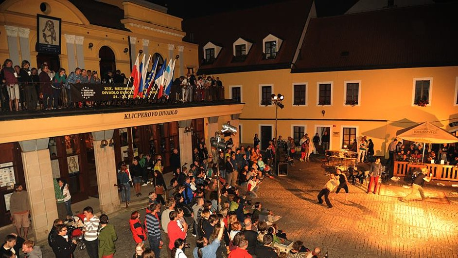 Také letos Klicperovo divadlo hostí festival Divadlo evropských regionů.