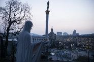 Ukrajina Kyjev 2014