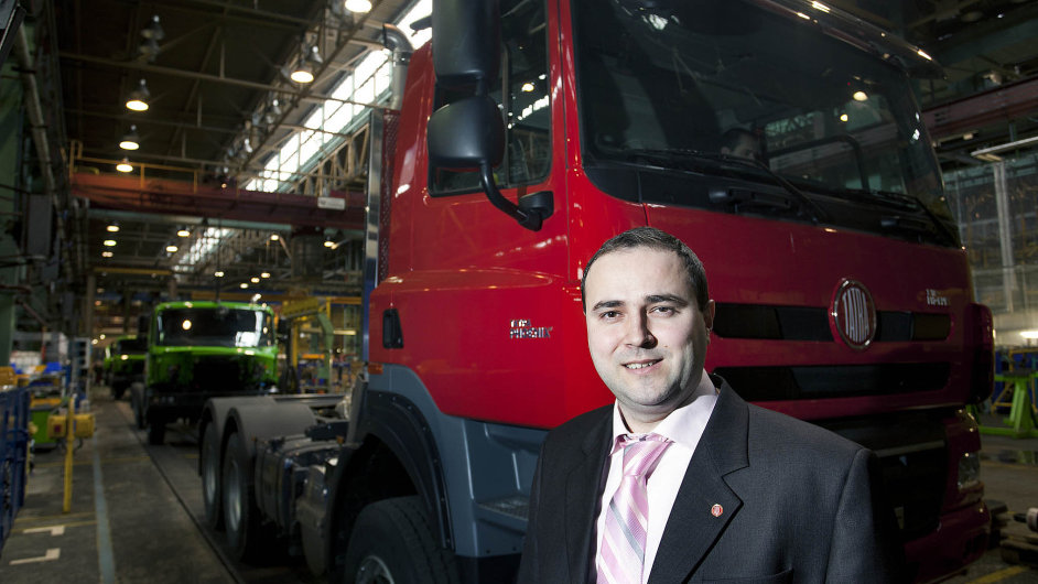 Radek Strouhal, ekonomický ředitel Tatra Trucks.