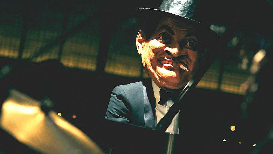 Jason Moran v masce Fatse Wallera minulý týden v klubu Blue Note v japonském Tokiu.