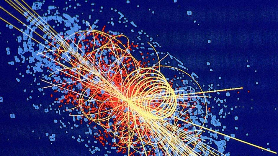 Simulace Higgsova bosonu