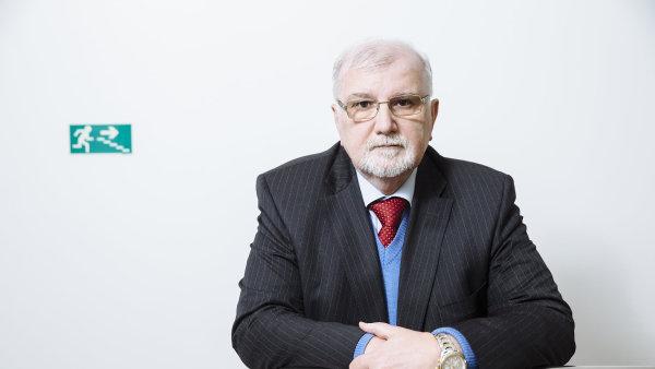 Jaroslav Han�k, prezident Svazu pr�myslu a�dopravy �R