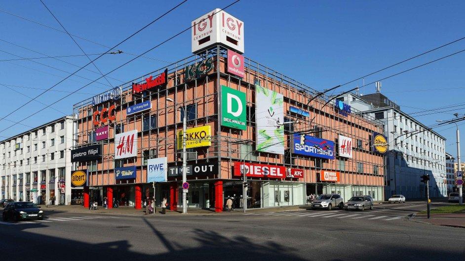 CPI chce za peníze také rozšířit a zmodernizovat obchodní centrum IGY v Českých Budějovicích.