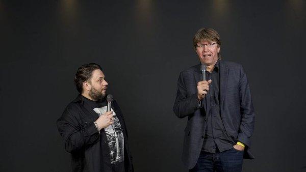 Ego Night: Čermák a Staněk se snaží rozesmát své čtenáře.