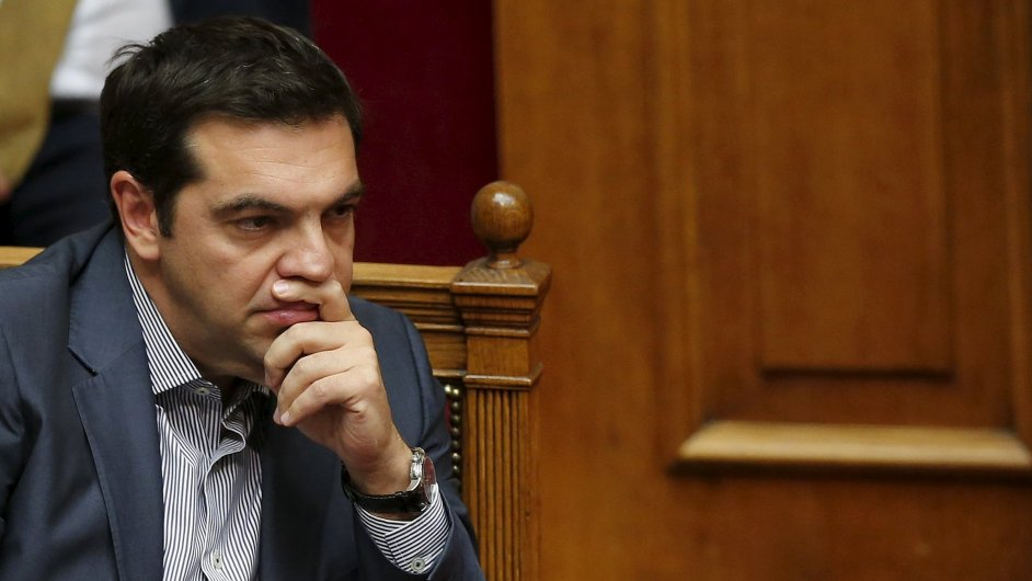 Řecký premiér Alexis Tsipras bude muset hasit i rozkol v Syrize.