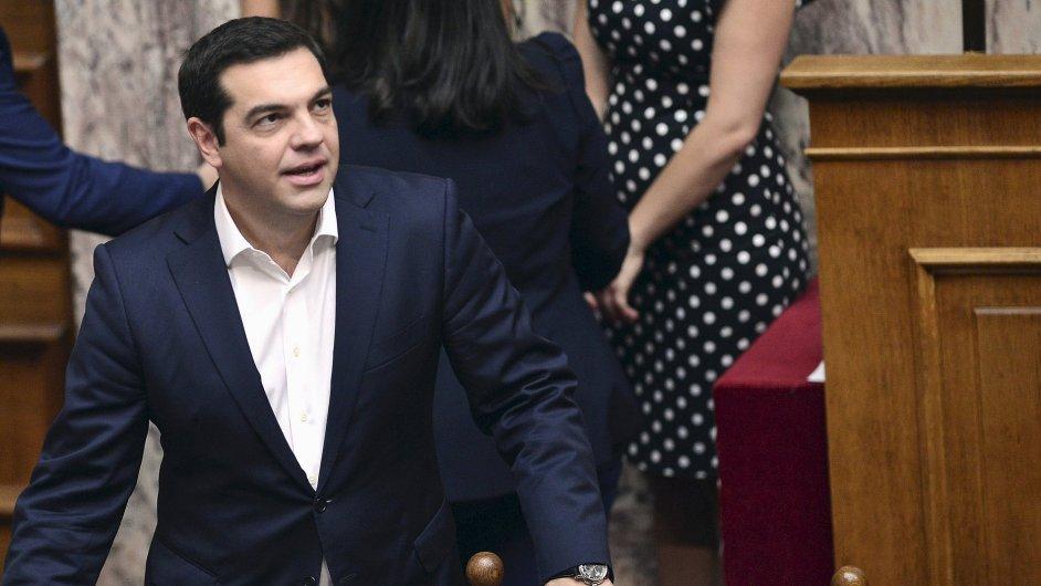 Tsipras chce rychle provést záchranný program a zbavit se dozoru.
