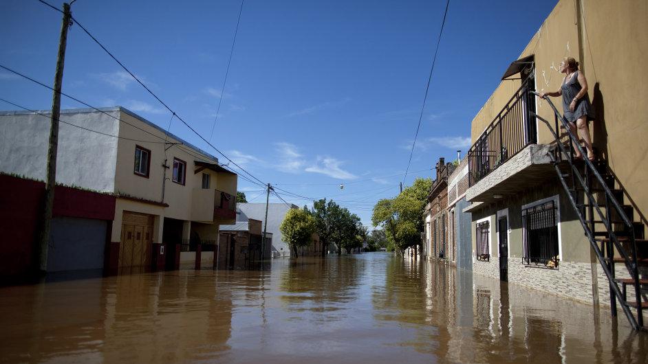 Povodně v Jižní Americe. Concordia, Argentina