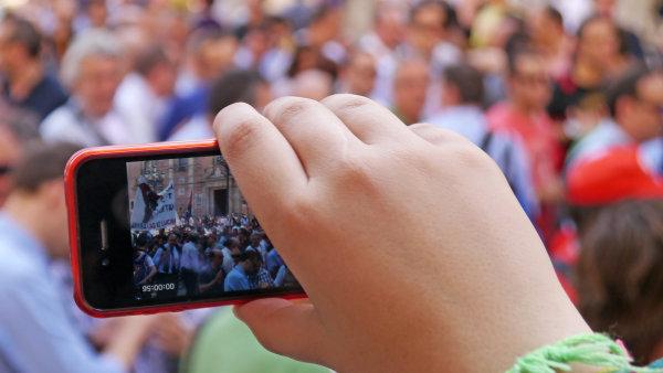 iPhone Film Festival se letos uskute�n� ji� po�est� - Ilustra�n� foto.
