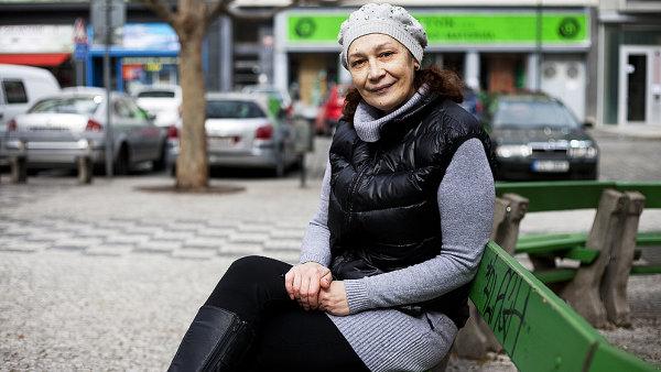 Portréty lidí z pražských ulic.