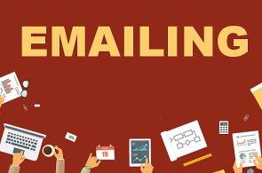 E-mailing, ilustrace