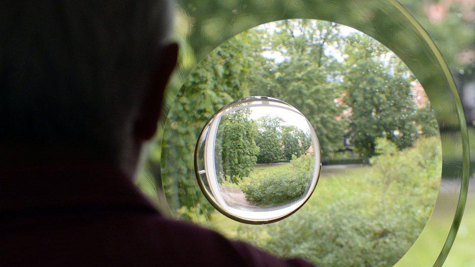 Snímek z výstavy Mistři českého skla