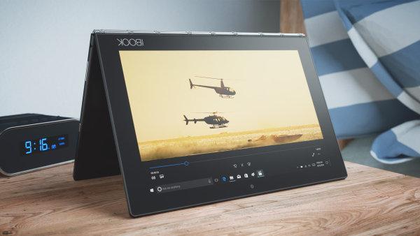 hybridní notebook Lenovo Yoga Book má verzi s Windows i Androidem